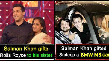 Salman Khan shows big heart, gives expensive gifts to his closed ones