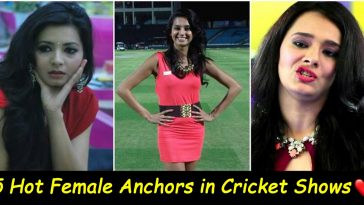 5 Gorgeous female anchors in cricket shows, check out the list