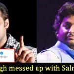 Arijit Singh was caught sleeping during award function; Salman Khan erupts