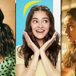 Hairstyles of Ananya Pandey
