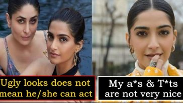 """My t*ts and a*s are not very nice"" - Sonam Kapoor makes a dark statement"