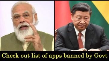 Indian government bans 43 apps, mostly of Chinese origin, read details