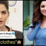 "Sonam Kapoor tells Parineeti Chopra ""Not to Wear Tight Clothes"""