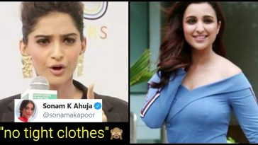 "Sonam Kapoor tells Parineeti Chopra ""Not to Wear Tight Clothes"""