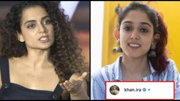 Aamir Khan's daughter gives bang on reply to Kangana Ranaut for dragging her family