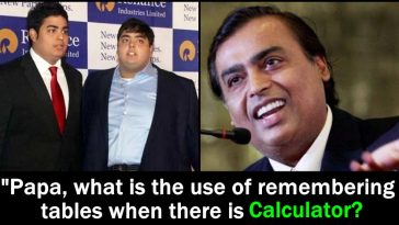 World's 4th richest man Mukesh Ambani gives a smart reply to Akash, details inside
