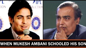 """What is the use of remembering tables when there is Calculator"" - Aakash Ambani asks his father"