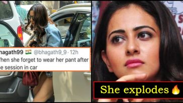 Guy crossed his limits and insulted Rakul Preet, actress takes him down