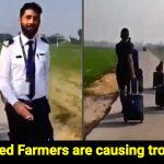 Amid farmers' protests, IndiGo crew had to walk 2 km through farmland to reach on time
