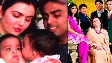 Unseen Childhood pics of Akash Ambani, Anant Ambani and Isha Ambani