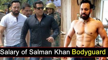 Meet Salman Khan's bodyguard 'Shera' - Do you know his full Salary?