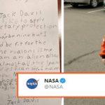 Cute boy applies for a Job at NASA; this is how NASA replied