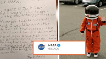 Cute boy applies for a Job at NASA; this is how NASA replied