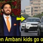 Luxurious Security cars worth Rs 16.55 Cr follow Mukesh Ambani kids as part of safety