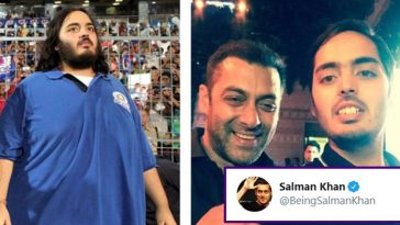 Salman Khan reacts after Anant Ambani loses 108 kg in 18 months