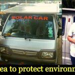 Solar-Powered Car