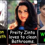 9 Strange habits of Celebrities every Bollywood fan must know