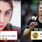 Jimmy Neesham replies to Pakistani actress who wants Babies from him