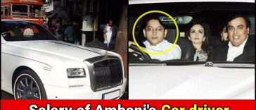 How much Salary does Mukesh Ambani pay to his Car driver? Read details
