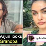 Troll said Arjun Rampal looks like his Grandpa; Gabriella responds