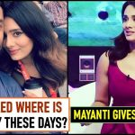 Mayanti Langer gives Bang on reply to a Guy who trolled her Husband