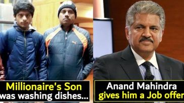 Anand Mahindra does it again, offers internship to a Millionaire's Son who was found washing dishes in Shimla