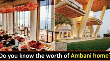 This is Mukesh Ambani's billion-dollar home, Check out inside pics