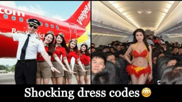 List of Flight attendants and their Unique Dress Codes, details inside