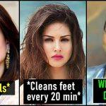 Strange habits of Female Actors in Bollywood film industry