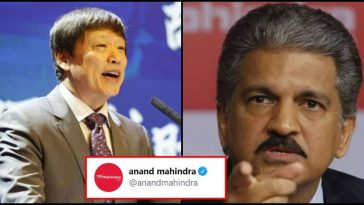 Chinese guy tried to troll India on Twitter; Anand Mahindra silences him