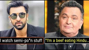 When Rishi Kapoor and Ranbir Kapoor made headlines for their statements