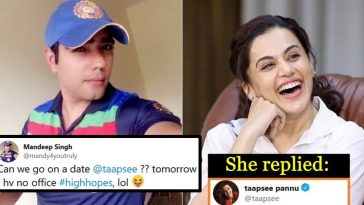 Single boy asks Taapsee Pannu for a romantic date; here's what she said