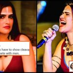 """Why all feminists""""Why all feminists show cleavage to compete with men"""" - Sona Mohapatra gives an epic reply! show cleavage to compete with men? - Sona Mohapatra gives an epic reply!"""