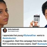 "Netizens called Suhana ""Kaali"" and trolled her for dark skin, this is how she replied"