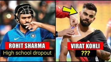 Educational qualifications of Big Indian cricketers; only 1 out of 100 fans would know