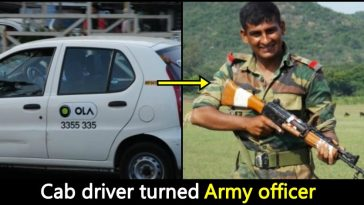 From Ola driver to Army officer: Here's an inspirational story of Om Paithane