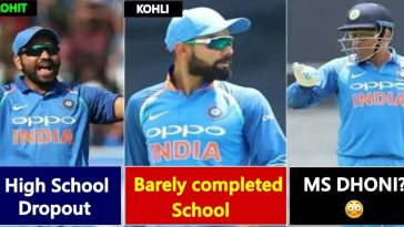 List of Big Cricketers and their educational qualifications, read details