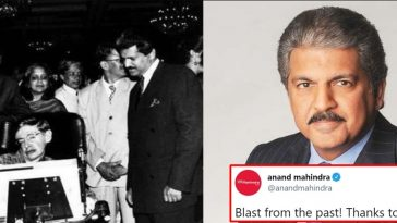 Blast from the past: Anand Mahindra shares throwback pic with Stephen Hawking