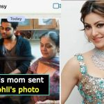 Here's the reason why Urvashi's mom sent her Kohli's picture, check out the post