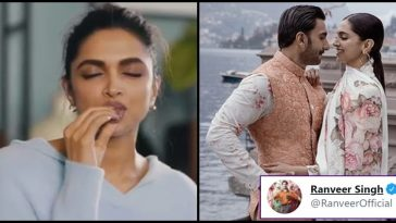 Deepika posts video of herself eating a chocolate; Ranveer drops a love-filled comment