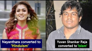 Kollywood stars Who converted to different faith for specific reasons