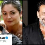 Pooja Bhatt reveals what her father said before kissing Sanjay Dutt