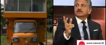 Mobile home worth ₹1 lakh built on auto-rickshaw leaves Anand Mahindra amazed!