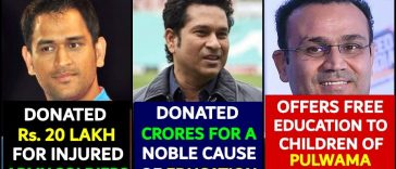 List of cricketers who cared for people and won a billion hearts, let's praise them
