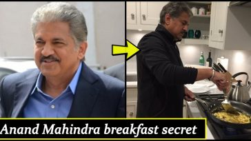 People don't know what Anand Mahindra eats for breakfast? How does he start his day?
