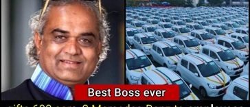 Meet the Best Boss in the world, he treats his employees like a King