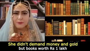 Pakistani bride demands books worth Rs 1 lakh as 'wedding gift' from husband; video goes viral
