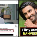 Ranveer Singh posts a 'flirty remark' on Deepika's post dedicated to chocolate lovers