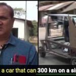 Odisha Farmer creates history, builds Solar-powered Car on his own, let's make him famous