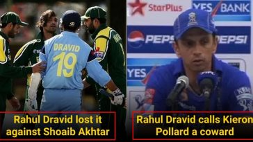 5 Times Rahul Dravid shocked everyone with his temper